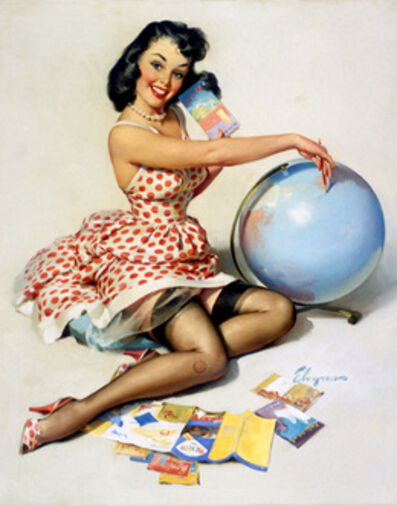 Gil Elvgren, 'Out of this World ', 1959