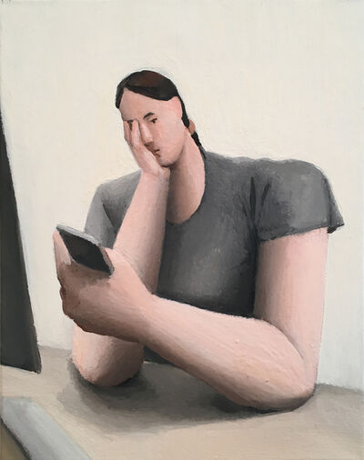 Tony Toscani, 'Anxiety at Work study', 2018