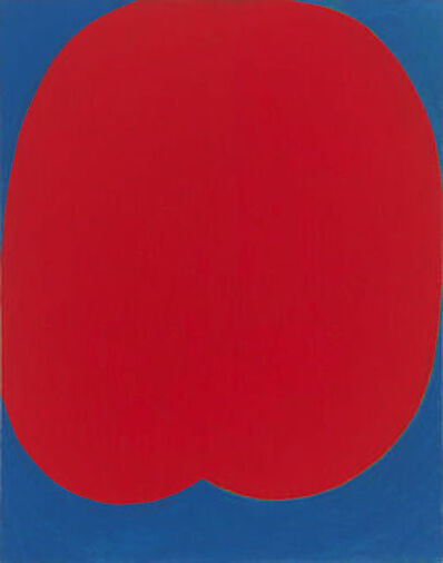 Leon Polk Smith, 'Big Red', 1955