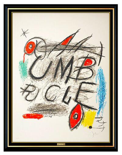 Joan Miró, 'Umbracle', 1973