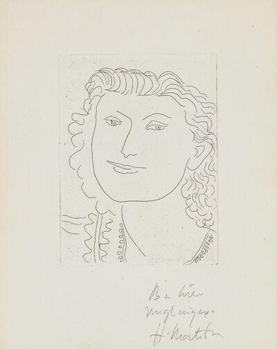 Henri Matisse, 'Visage souriant (Smiling Face)', 1946