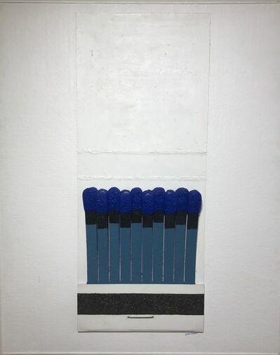 Joseph Silitario, 'Match Book Blue Tip', ca. 1963