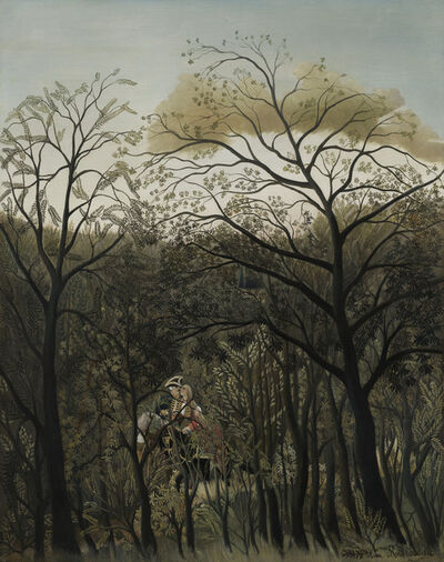 Henri Rousseau, 'Rendezvous in the Forest', 1889