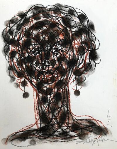 Salifou Lindou, 'Untitled (Sketchbook P.5)', 2017
