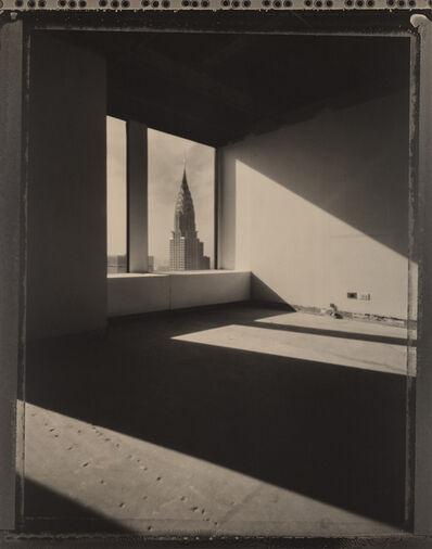 Tom Baril, 'Chrysler Building Through Window', 1995