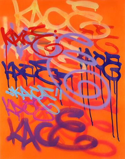 Kip Omolade, 'Luxury Graffiti Kelley III Tag Sheet', 2020