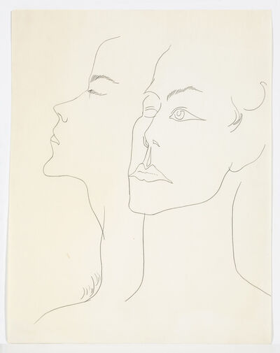Andy Warhol, 'UNIDENTIFIED MALE ', ca. 1957