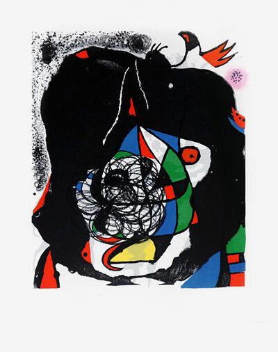 Joan Miró, 'Les Revolutions Sceniques du Xxe Siecle - 1', 1975