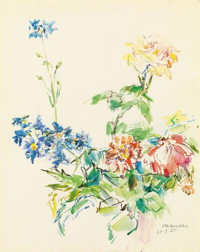 Oskar Kokoschka, 'Bouquet of Summer Flowers and Roses', 1965