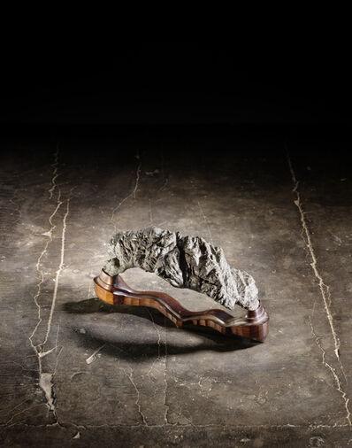 Unknown Chinese, 'A Ying dark grey stone scholar's rock 英石賞石', NA