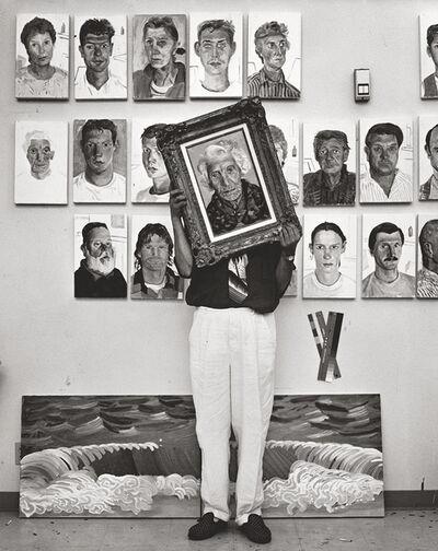 Herb Ritts, 'David Hockney', 1989