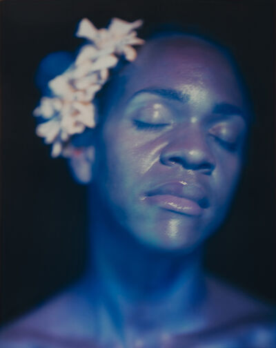 Lyle Ashton Harris, 'Billie Dreaming in Blue', 2021