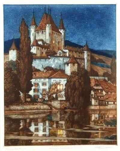 Frederick Marriott, 'The castle in Thun, Switzerland'