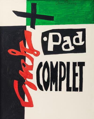 Stuart Davis, 'Standard Brand No. 2', 1960-1961