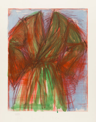 Jim Dine, 'Printing Outdoors', 1980
