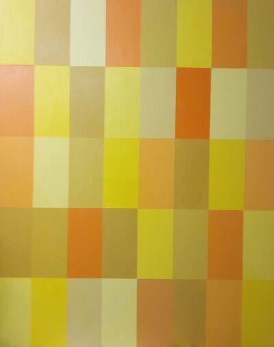 Jaime Higa Oshiro, 'Composición I (Amarillo)', 2018