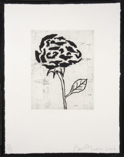 Donald Baechler, 'Flower V', 2007