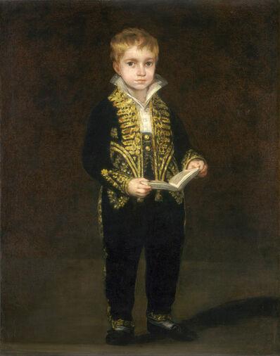 Francisco de Goya, 'Victor Guye', 1810