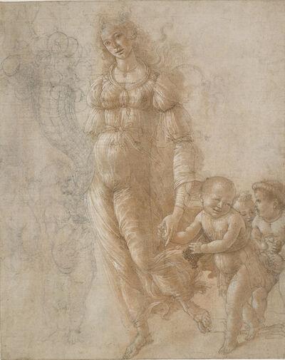Sandro Botticelli, 'Allegory of Abundance or Autumn', 1470-1475