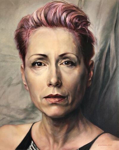 Elizabeth Barden, 'Be Still (Portrait of Kathrin Longhurst)', 2020