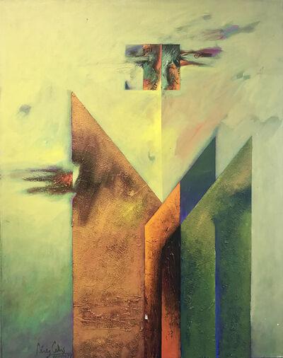 """Perez Celis, '""""El ir al encuentro""""', 1977"""
