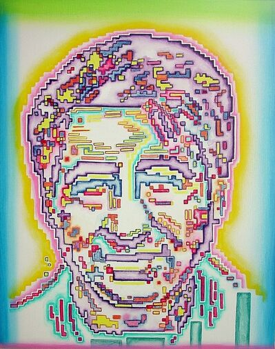 Linda Vallejo, 'Electric Hero: Cesar Chavez', 2009