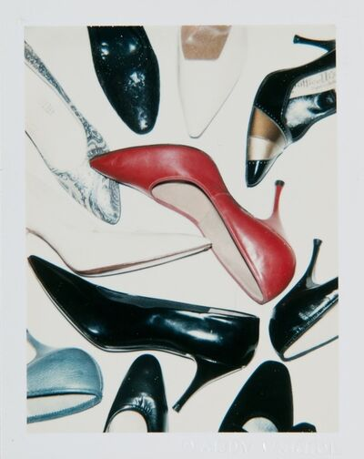 Andy Warhol, 'Andy Warhol, Polaroid Photograph of Shoes', ca. 1980