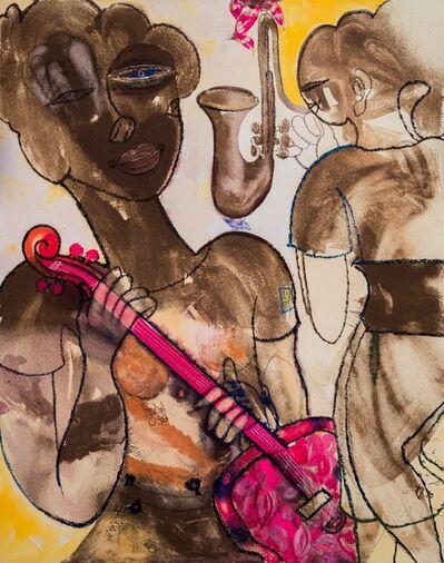 Farghali Abdel Hafiz, 'INSPIRATIONS OF FUSCHIA', 2019