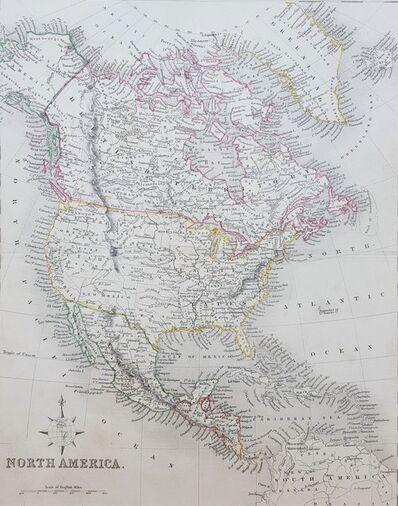 Unknown Artist, 'North America', ca. 1850