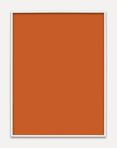 Phil Chang, 'Untitled (Orange Monochrome)', 2013