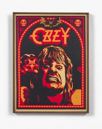Shepard Fairey (OBEY), 'Ozzy', 2001