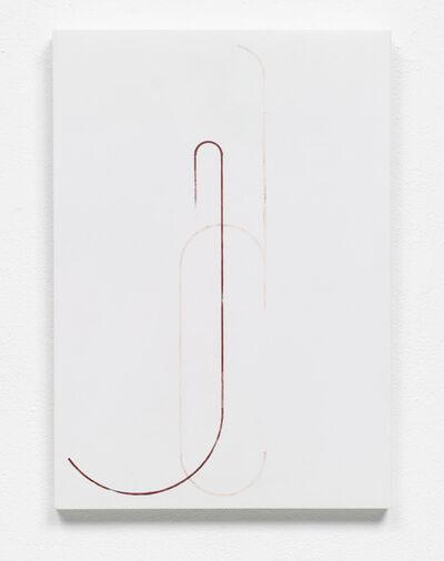Florian Pumhösl, 'Study of a Georgian letter', 2013