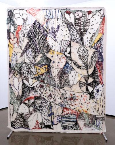 Christian Newby, 'Clubs & Flowers', 2019
