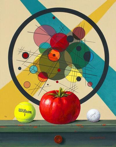 Jenness Cortez, 'Kandinsky and Cortez: Circles', 2016