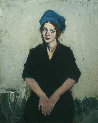 Malcolm T. Liepke, 'Blue Hat', 2019