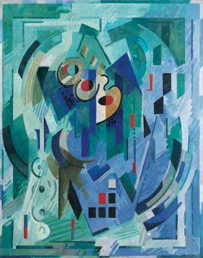 Albert Gleizes, 'Composition - Pour l'Esprit - Les Verts', 1939