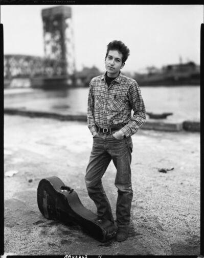 Richard Avedon, 'Bob Dylan, Singer, 132nd Street and FDR Drive, Harlem, November 4, 1963', 1963
