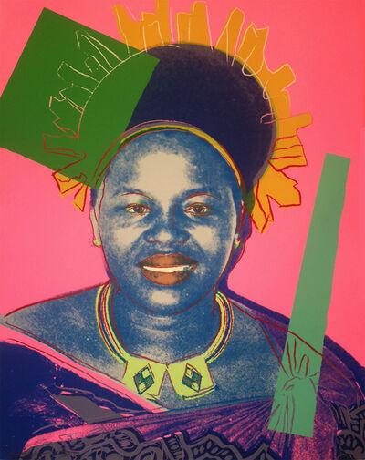 Andy Warhol, 'Queen Ntombi Twala of Swaziland (FS II.346) - TP', 1985