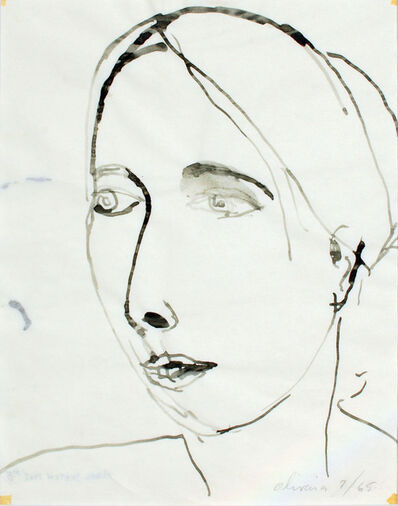 Nathan Joseph Roderick Oliveira, 'Model Sketch #5', 1965