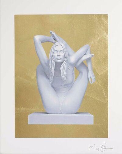 Marc Quinn, 'Sphinx - Gold Leaf'