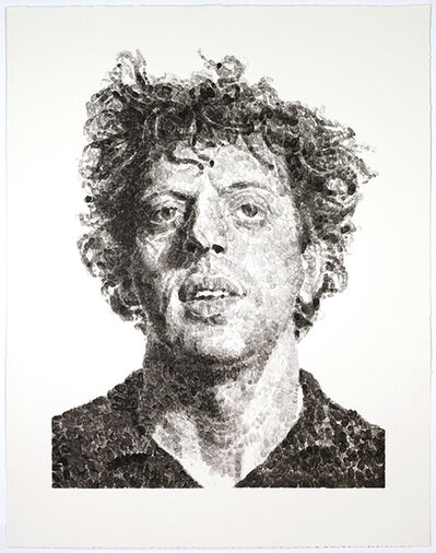 Chuck Close, 'Phil/Fingerprint', 2009