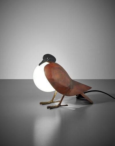 François-Xavier Lalanne, 'Pigeon lamp', designed 1991