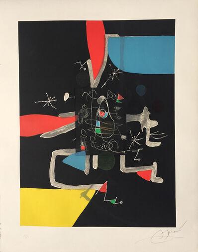 Joan Miró, 'l'Libre dels Sis Sentits IV (Book of the Six Senses)', 1981