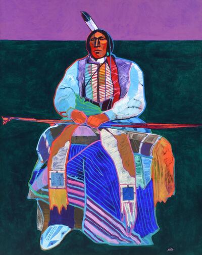 John Nieto, 'Plains Warrior', 1994