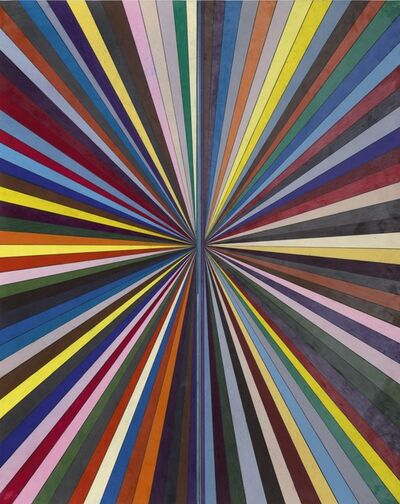 Mark Grotjahn, 'Untitled (Full Colored Butterfly 761)'