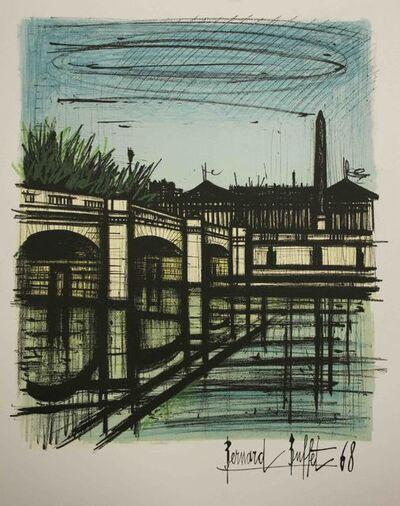 Bernard Buffet, 'Place de la Concorde', 1968