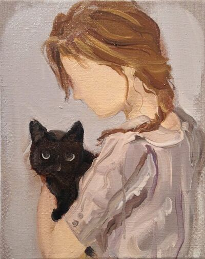 Gideon Rubin, 'Black Cat', 2012