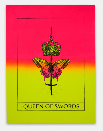 Mieke Marple, 'Queen of Swords (Independence)', 2020
