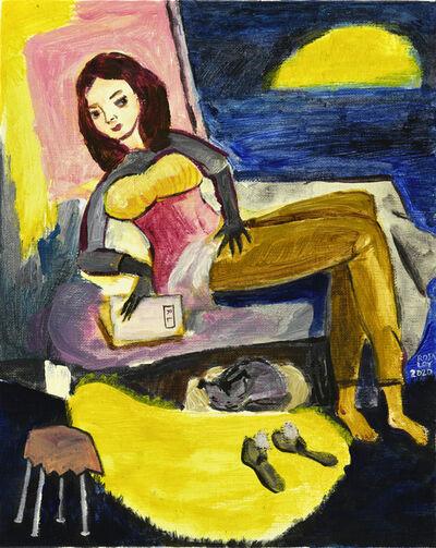 Rosa Loy, 'Rauhnächte', 2020