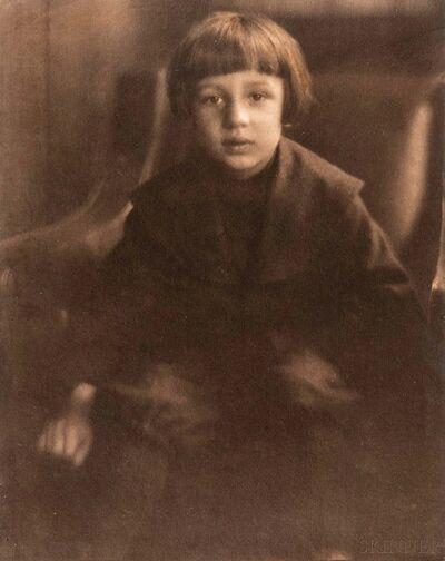 Heinrich Kühn, 'Portrait of Hans Kühn', 1905